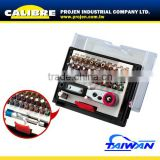 CALIBRE 33pc Socket and Bits Holder Tool Set