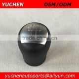 YUCHEN Car Shift Knob Silver/ Black Color Gear Knob Car Spare Parts For RENAULT CLIO II KANGOO II TWINGO