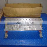 T2 pure red copper high quality Eletrical copper row / tinned coated copper bus bar / copper bar