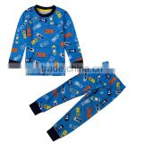 (AB6445)24m-6y dark blue NOVA baby boy sleepwears 2015 autumn cotton sleepwears child wholesale clothing PROMOTION