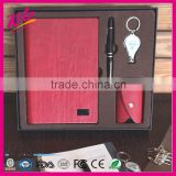 High-end and business gifts PU notebook suit