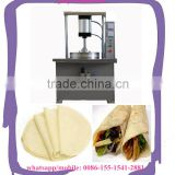 commercial electricity pancake tacos machine chapatti making machine/thin pita bread forming machine
