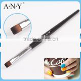 ANY UV Gel Nail Beauty Care Wood Handle Small Nail Brush for Nail Art