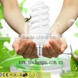 ISO certificated factory high lumen spiral energy saving lamp for shopping mall lghting with CE,EMC,SASO,ROHS CERTIFICATES CHINA