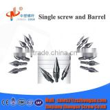 Plastic LDPE Film/HDPE Scrap Screw Cylinder Nozzles/Injection Screw Spare Parts