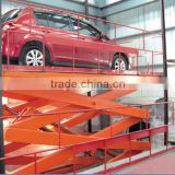 hydraulic elevator oil platform for car lifting or cargo lifting