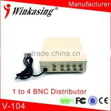 Video Distributor for CCTV system bnc connector video splitter