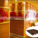 2015 new design anti-UV plastic wall board decor design wall cladding in outside building material                                                                         Quality Choice