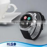 Hiso wonderful design Bluetooth Smartwatches with heart rate function in stock A8 hand watch mobile phone mens watches