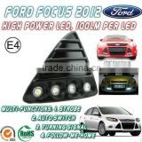 2014 NSSC daytime running lights kit car drl Ford Focus 2012 led daylight running lights