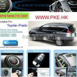 Keyless Entry Smart Push Button Start Engine with RFID Car Security System for Toyota Prado