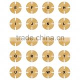 Bamboo circle puzzle,eco bamboo toys for kids,new product ideas 2014 py0027