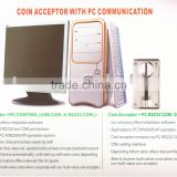 PC Programmable Coin acceptor RS232