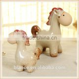 Ceramic Horse Foal Baby Decoration Figurine Animal