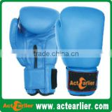 Synthetic leather 6oz 8oz 10oz 12oz 14oz 16oz junior boxing gloves for adult