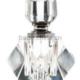 crystal square perfume glass bottle custom made glass perfume bottle