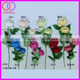 factory direct 3 heads artificial evening rose tree
