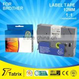 For Brother priter label tape cartridge TZe 221 cassette compatible for Brother printer.