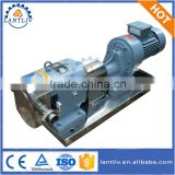 Stainless Steel Sanitary Rotary Lobe Pump High Viscosity Food Liquid Transfer Pump Honey Pump