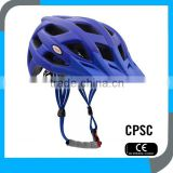custom beautiful CE CPSC adjustable in mold outdoor mountain bicycle helmet OEM for men and women