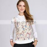 PRETTY STEPS latest fashion women's casual animal print blouses shirts plus size