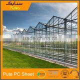 2 ply plastic sheets policarbonate greenhouse spare parts hard shell roof top tent greenhouses for mushroom