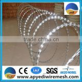 Anping yedi factory razor barbed military wire mesh fence Iron wire, Steel Wire and Stainless