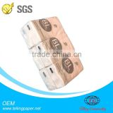 Wholesale small pack facial tissue 10 pcs 3PLY 20*20CM packing standard Pocket Tissue facial tissue pocket tissue