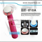 BP-010A wholesale beauty massager with ultrasonic ion photon therapy home use special for OEM business