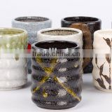 wholesale china hotel restaurant home black custom ceramic porcelain coffee tea cup
