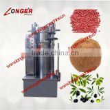 Hydraulic Olive Oil Pressing Machine|Seed Oil Extraction Hydraulic Press Machine