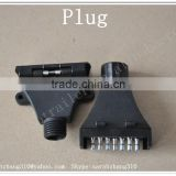 Trailer Plugs Parts and Trailer Parts,Trailer Use 7 Pin Flat Trailer Socket Plastic