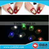 Ready Stocks NFC LED rfid Nail Tag