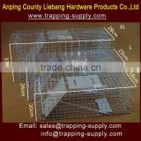 LB Small Animal Live Hunting Trap Catch Alive Survival Mouse Rabbit Bird Cage Trap Box Trap Factory Wholesaler