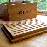 Inquiry about Wooden Bread Box with Groove Lid Oak Customer Logo Bread Crate Melamine Bread Bin Made By Solid Wood