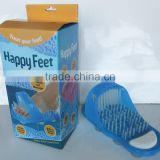 Easy Feet Foot Scrubber Bath Shower Scrub Brush Pumice Stone