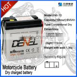 Starting Lead Acid Motorcycle Battery