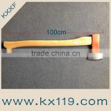 Super solid High Carbon Steel Wooden Handle wood axe for sale