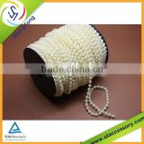 2015 popular wholesale plastic pearl bead curtain