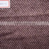Popular scottish-style herringbone tweed fabric, woolen fabric, herringbone windowpane tweed fabric