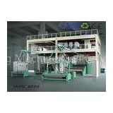 SMS Spunbond Nonwoven Fabric Making Machine 3200mm For Operation Suit