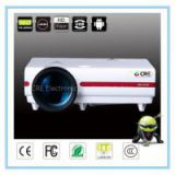 cre x1500 Android 4.0 3500 lumens 80 inch led tv mini proektor led portable 1080p education projector for home training