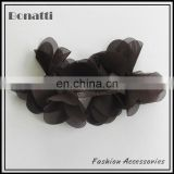 rhinestone black bow fabric flower brooch flower garment accessory boutique garment accessories