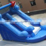 2016 Fashional Giant Inflatable Sponge Pop Cartoon Water Slide For Sale, Inflatable Water Slide Pool For Kids And Adults