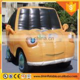 White custom shape inflatable car, advertising inflatable car, inflatable coupe model