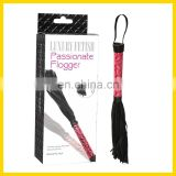 Light Red Luxury Fetish Passionate Floggers, Sex Toy Rubber Pussy For Men