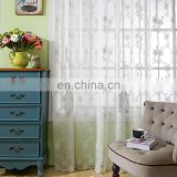 lace sheer embroidery window curtain fabric for sale