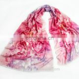Fashion accessories winter women woolen scarf lily scarves tassel