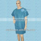 disposable patient surgical gown in hospitals