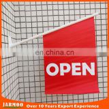 High quality water proofing shop open wall banner flag